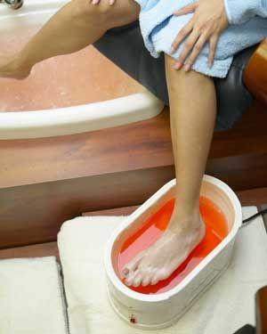 Avalon RGV Paraffin Treatment For Feet Salon Services Pedicure McAllen Spa In