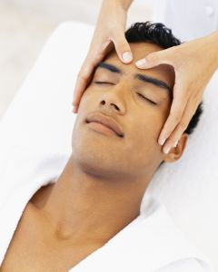 Invigorating Scalp Massage and Treatment